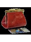 Кошелек на рамке тюльпан  Мэри красный Kniksen