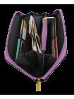 Кошелек  Сабрина-5 ривета фиолетовая Person