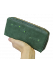 Кошелек женский натуральная кожа ВП-1 друид зеленый Kniksen
