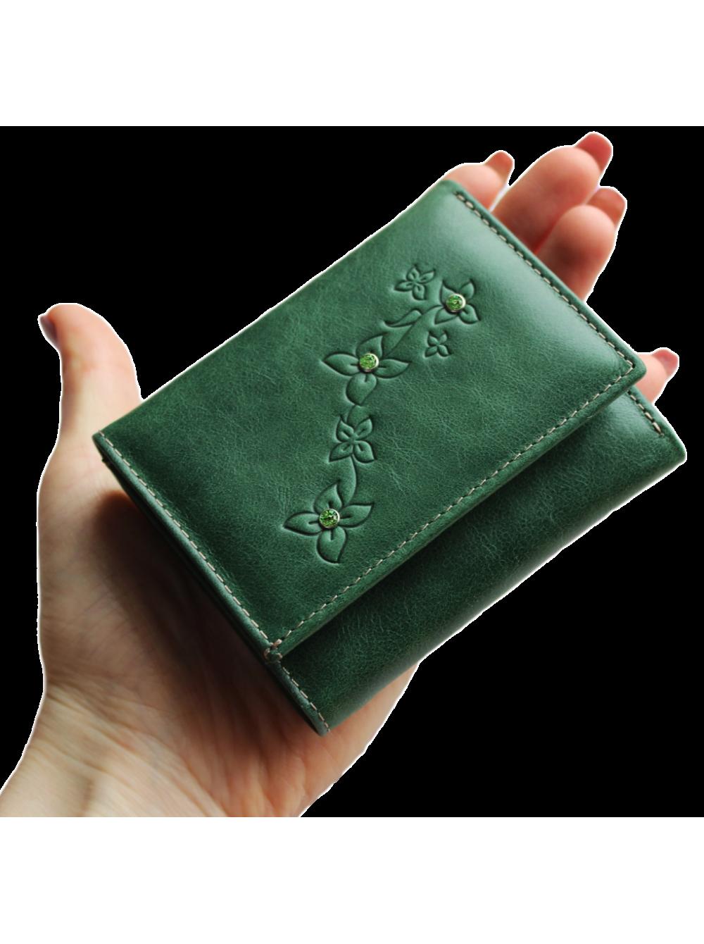 eb572b6d2218 Портмоне женское зеленое Джари-2 Мэри Kniksen купить в СПб, Москве