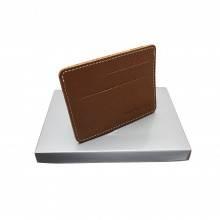 Картхолдер из кожи ФК-Person-RS коричневый