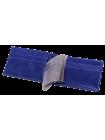 Кожаный футляр для кредитных карт ВМ-9 Мэри синий Kniksen