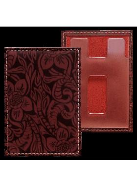 Футляр для банковских карт ФПК-1 аляска красная Person