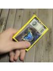 Кожаный футляр для карт ФПК-1 аляска желтая Person