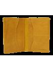 Обложка для паспорта ОП-2-A табачно-желтая Apache