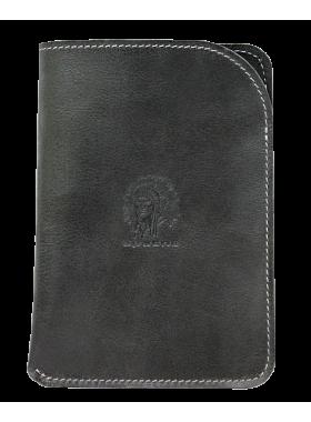Обложка для паспорта ОП-А дымчато-черная Apache