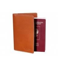 Обложка для паспорта ОП-S рыжая Apache RFID