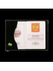 Обложка для паспорта О-ПО с тиснением «Герб РФ» и «PASSPORT» Эллада