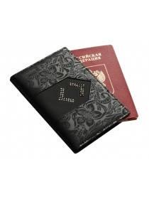 Обложка для паспорта ОП-16 Lancetta Black Kniksen