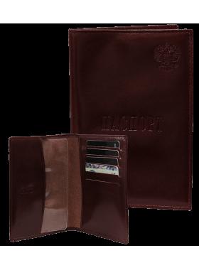 Обложка для паспорта с отделением для карт МП-1 о3 орион красный Mackintosh Studio