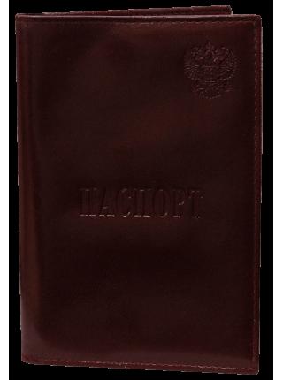 Обложка для паспорта с отделением для карт МП-1 о3 орион красный Person