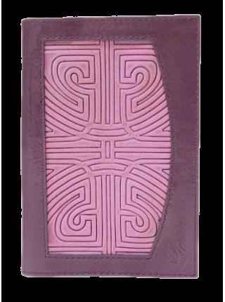 Обложка для паспорта ОП-14 сирень Person