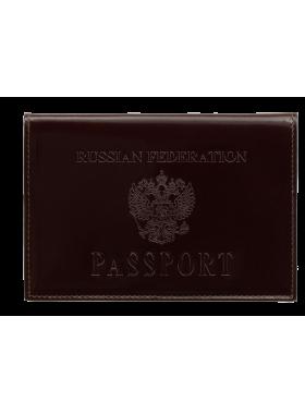Обложка для паспорта РФ ОП-2 Person красный