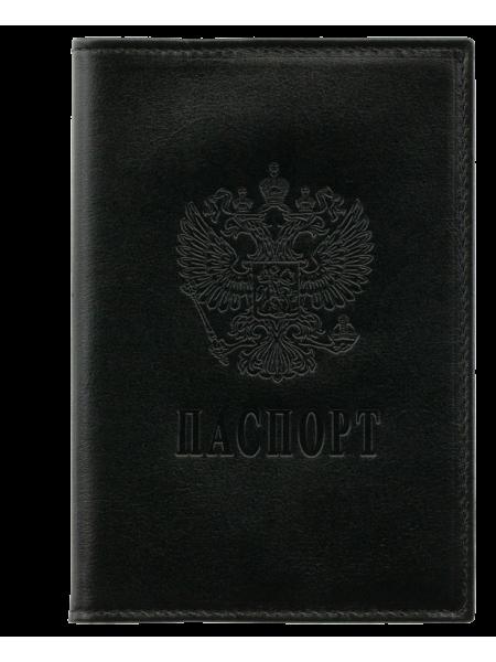 Обложка для паспорта из мягкой кожи