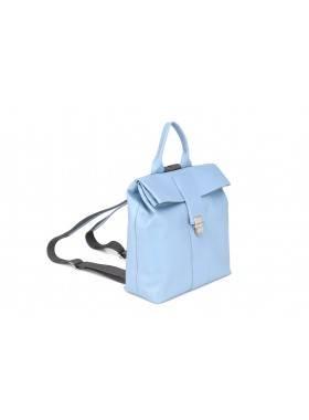 Женский рюкзак из натуральной кожи Камелия-1  Kniksen голубой