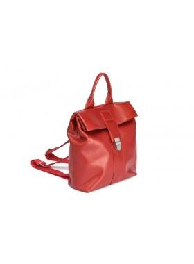 Женский рюкзак из натуральной кожи Камелия-1 Kniksen красный