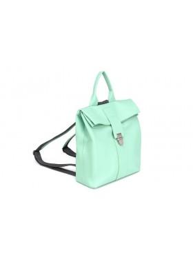Женский рюкзак из натуральной кожи Камелия-1 Kniksen мятный