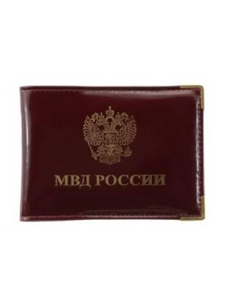 Обложка для удостоверения МВД Person