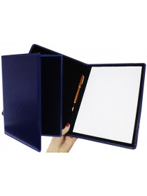 Папка на подпись синяя Person