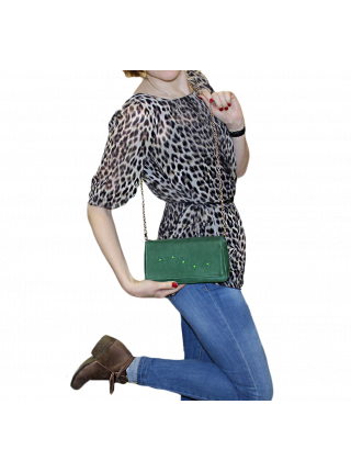Клатч женский Мэри СК-2 друид зеленый Kniksen