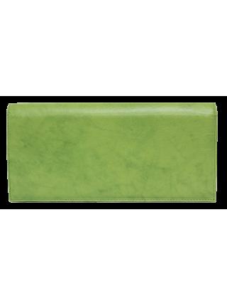 Клатч кожа женский зеленый № 6 Person