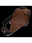 Нагрудная мужская сумка СМ-2113-А коричневая Apache