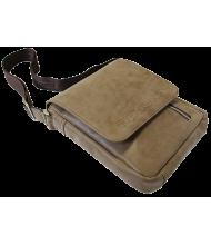 Мужская сумка через плечо СМ-4014-А коричневая Apache
