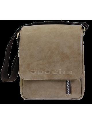 Сумка СМ-4014-А коричневая Apache