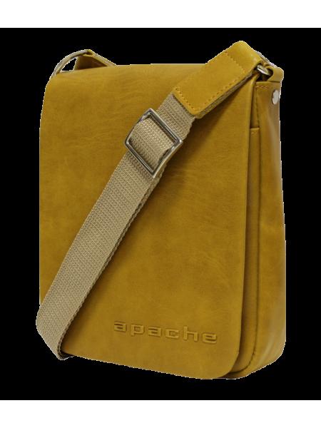 Сумка табачно-желтая  СМ-7013 Apache