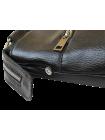 Портфель кожаный деловой Джон беладонна черная Person