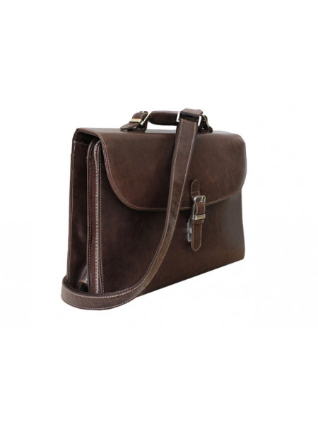 Портфель деловой ПД-9413-А дымчато -коричневый Apache