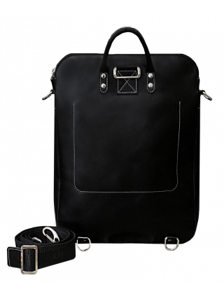 Сумка рюкзак трансформер 9713 черный Apache