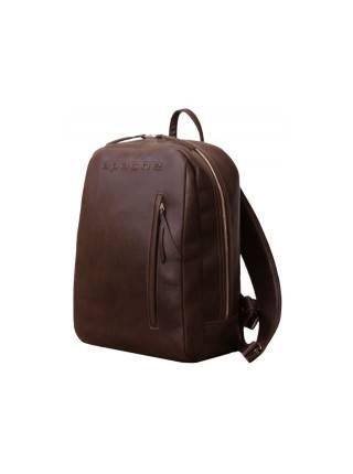 Рюкзак мужской из натуральной кожи P-9113-A дымчато-коричневый Apache