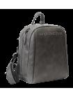 Кожаный городской рюкзак P-9013-A друид серый Apache