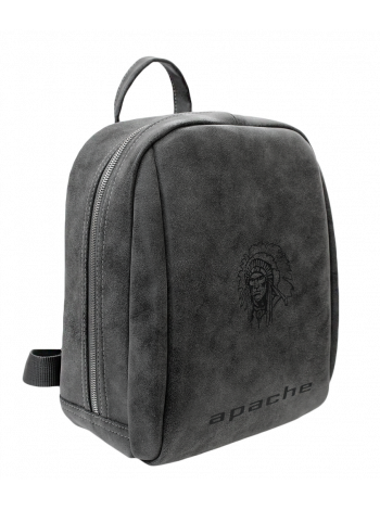 Рюкзак P-9014-A  искусственная кожа серый Apache
