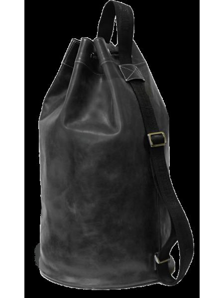 Рюкзак туристический Сумка - мешок C-9213-A дымчато-черного Apache