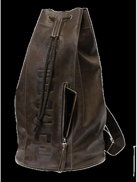 Рюкзак туристический Сумка - мешок C-9213-A дымчато-коричневый Apache