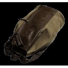 Сумка рюкзак мужская коричневая из искусственной кожи Apache