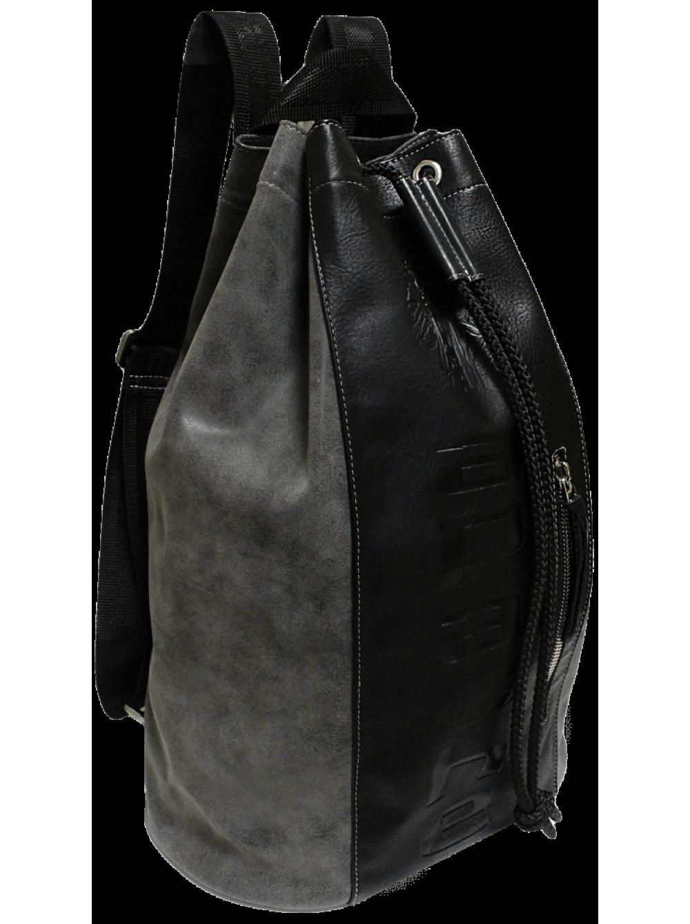 fd0478f80e24 Сумка мешок рюкзак большая С-9614-А серая Apache недорогие купить в ...