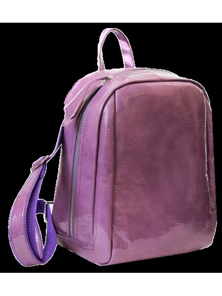 Кожаный городской рюкзак друид P-9013-A Lilac Candy Apache