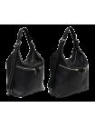 Женская сумка рюкзак трансформер Лада белладонна черная Kniksen