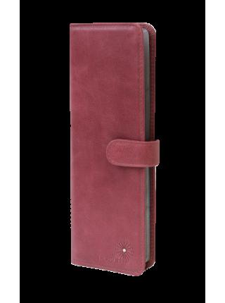 Визитница для пластиковых карт женская С-ВМ-6 друид розовый Person