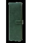 Кошелек визитница женский зеленый друид  С-ВМ-6  Флауэрс