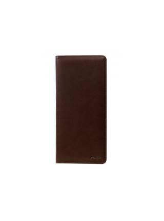 Визитница мужская с вшивным блоком ВН коричневая Person