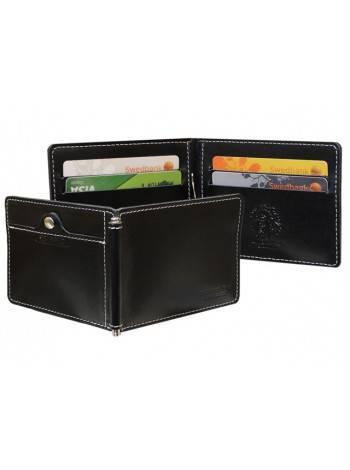 Зажим для денег ОК-S черный Apache RFID