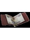 Зажим для денег шик бургундия СТ-ОКК