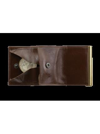 Зажим для денег коричневый ОК-5 Person