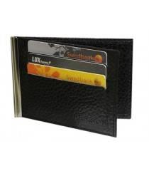 Зажим для денег мужской ОК-PS черный Person RFID