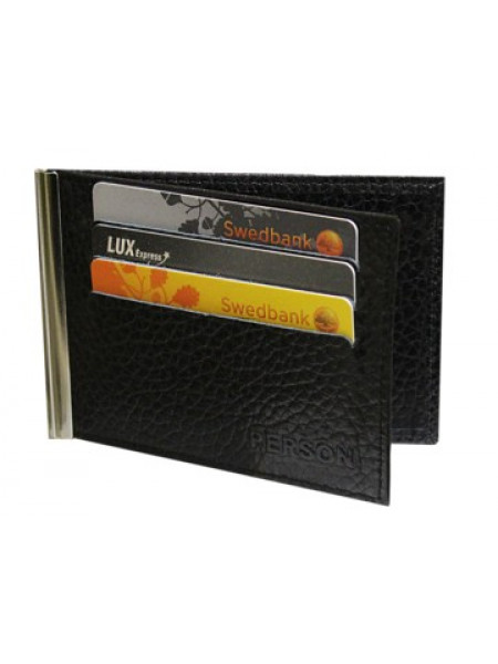Зажим для денег ОК-PS черный Person RFID
