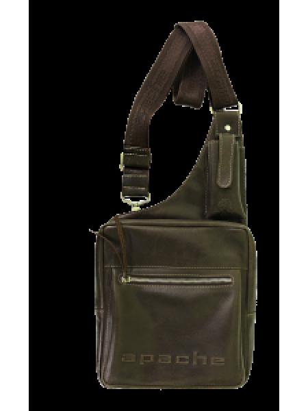 Сумка нагрудная дымчато-коричневая СМ-2013-А Apache